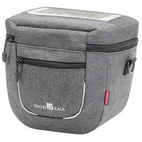 KlickFix Aventour Compact City Handlebar Bag, grijs